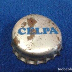 Coleccionismo Otros Botellas y Bebidas: CHAPA CON CORCHO DE LECHE ( CELPA ) ANTIGUA VER FOTOS . Lote 126177063