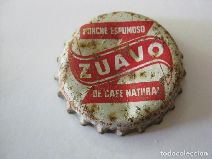 CHAPA CORCHO, TAPON CORONA ZUAVO (Coleccionismo - Otras Botellas y Bebidas )