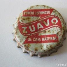 Coleccionismo Otros Botellas y Bebidas: CHAPA CORCHO, TAPON CORONA ZUAVO. Lote 127207027
