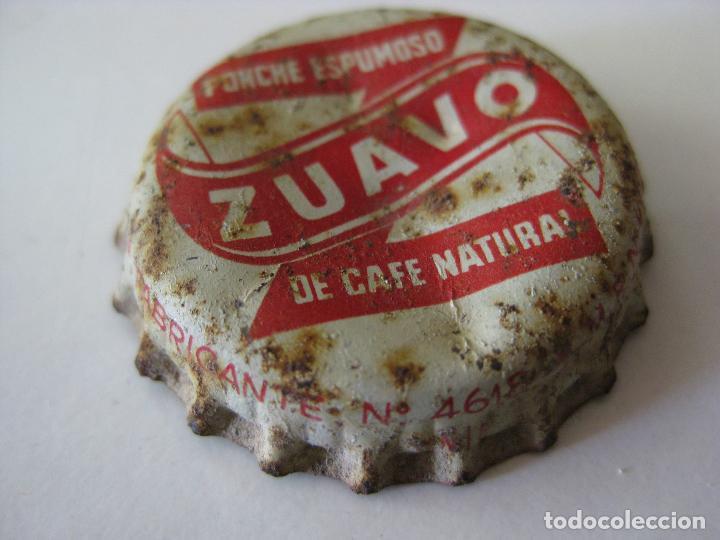 Coleccionismo Otros Botellas y Bebidas: CHAPA CORCHO, TAPON CORONA ZUAVO - Foto 2 - 127207027