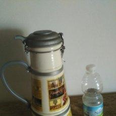 Coleccionismo Otros Botellas y Bebidas: GRAN JARRA CERVEZA CERAMICA ALTENMUNSTER 30X14 CMS 2.100 GRAMOS PESO. Lote 128082751