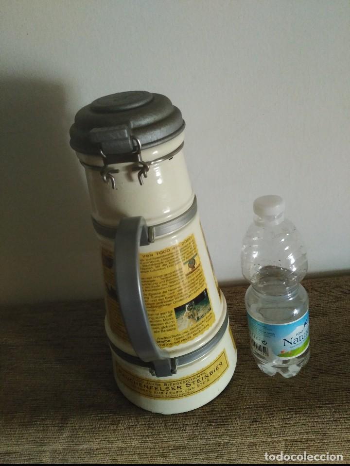 Coleccionismo Otros Botellas y Bebidas: gran jarra cerveza ceramica altenmunster 30x14 cms 2.100 gramos peso - Foto 2 - 128082751