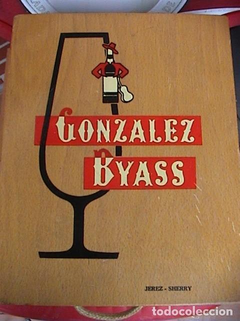 CAJA GONZALEZ BYASS (Coleccionismo - Otras Botellas y Bebidas )