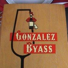 Coleccionismo Otros Botellas y Bebidas: CAJA GONZALEZ BYASS. Lote 128715235