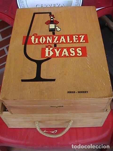 Coleccionismo Otros Botellas y Bebidas: Caja Gonzalez Byass - Foto 2 - 128715235