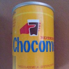 Coleccionismo Otros Botellas y Bebidas: LATA VACIA NUTRICIA CHOCOMEL 0,25 L HOLANDA ALTURA 10 CM DIAMETRO 6,5 CM (APROX). Lote 128858279