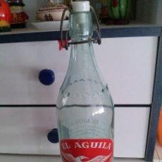 Coleccionismo Otros Botellas y Bebidas: BOTELLA GASEOSA EL AGUILA GRANADA. Lote 129351579