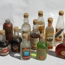 Coleccionismo Otros Botellas y Bebidas: BOTELLAS BOTELLITAS DE LICOR BARDINET LOTE // LAS DE LA FOTO. Lote 129566891