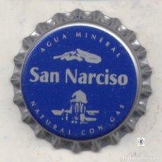 Coleccionismo Otros Botellas y Bebidas: CHAPA AGUA SAN NARCISO XAPA KRONKORKEN TAPPI BOTTLE CAP CAPSULE. Lote 129683803