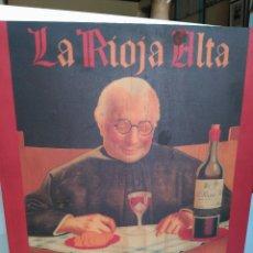 Coleccionismo Otros Botellas y Bebidas: BONITA CAJA DE MADERA DE LA RIOJA ALTA SOCIEDAD DE COSECHEROS DEL VINO. Lote 130131351