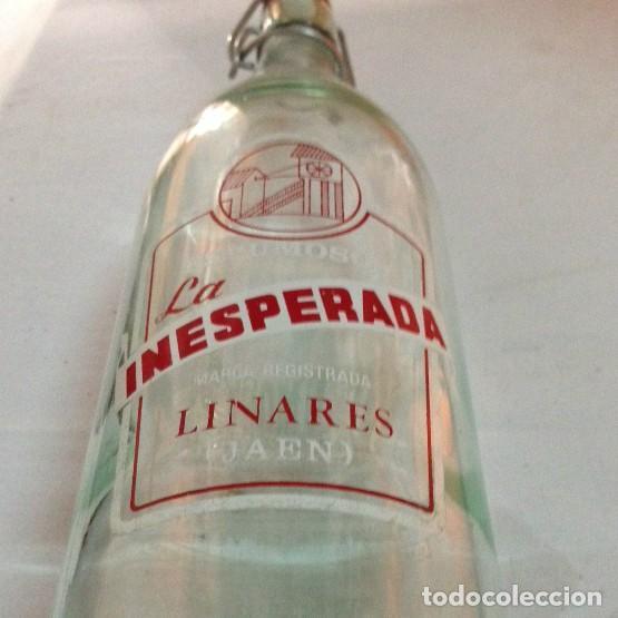 ANTIGUA BOTELLA INESPERADA (Coleccionismo - Otras Botellas y Bebidas )