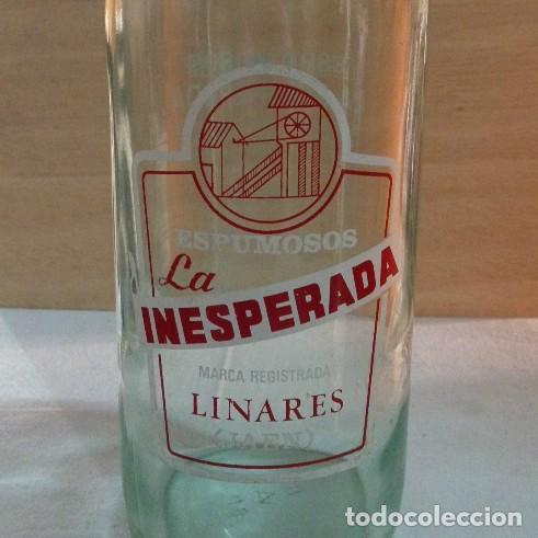 Coleccionismo Otros Botellas y Bebidas: Antigua botella Inesperada - Foto 2 - 130189259