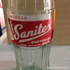 Coleccionismo Otros Botellas y Bebidas: ANTIGUA BOTELLA SANITEX. Lote 130189427