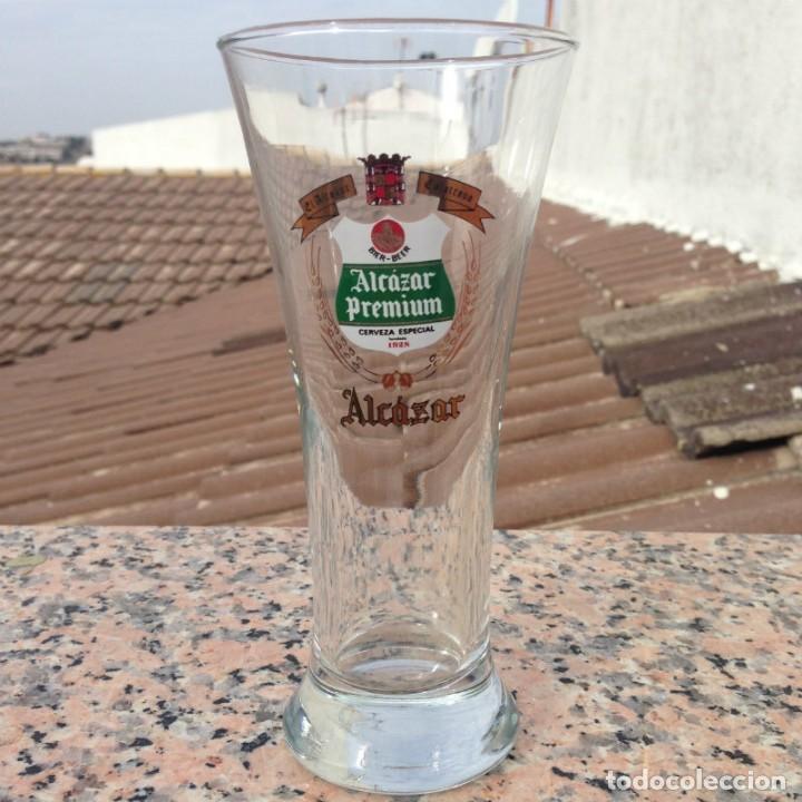 VASO TUBO ALCAZAR (Coleccionismo - Otras Botellas y Bebidas )