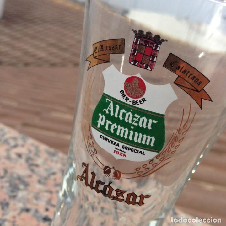 Coleccionismo Otros Botellas y Bebidas: Vaso tubo Alcazar - Foto 2 - 130190007