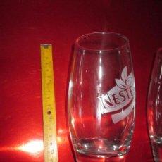 Coleccionismo Otros Botellas y Bebidas: LOTE 2 VASOS- NESTEA-COLECCIONISTAS-NUEVOS-VER FOTOS. Lote 130557194