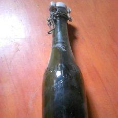 Coleccionismo Otros Botellas y Bebidas: ANTIGUA BOTELLA GRANDE DE CEREALINE CONCENTRADO,CON LETRAS EN RELIEVE. Lote 130622982