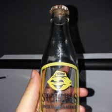 Coleccionismo Otros Botellas y Bebidas: REFRESCO GASEOSA SCHUSS LIMÓN TÓNICA NARANJA SERIGRAFIADA SAN SEBASTIÁN MADRID BARCELONA ZARAGOZA. Lote 130936292