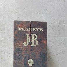 Coleccionismo Otros Botellas y Bebidas: CAJA WHISKY J&B CON JUEGO DE DAMAS ENVIO ESPAÑA 8,10. Lote 130955988