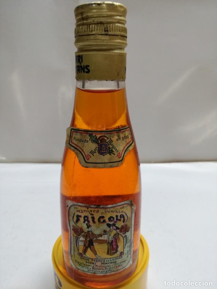 ANTIGUO BOTELLIN ESTOMACAL TOMILLO FRIGOLA IBIZA BALEARES (Coleccionismo - Otras Botellas y Bebidas )