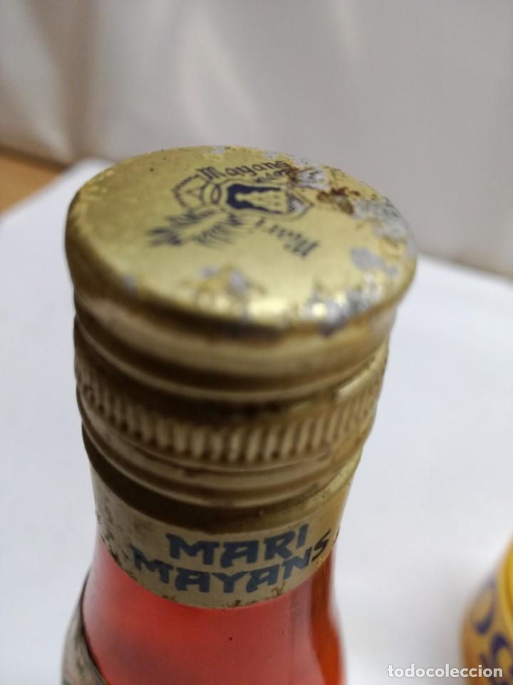Coleccionismo Otros Botellas y Bebidas: ANTIGUO BOTELLIN ESTOMACAL TOMILLO FRIGOLA IBIZA BALEARES - Foto 3 - 130994188