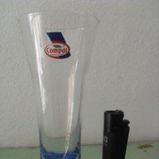 Coleccionismo Otros Botellas y Bebidas: VASO PUBLICITARIO DE ZUMOS COMPAL.. Lote 132514866
