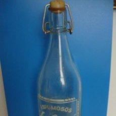 Coleccionismo Otros Botellas y Bebidas: GASEOSA DE ESPUMOSOS LA CINTA BOT TERRA ALTA TARRAGONA. Lote 133472130