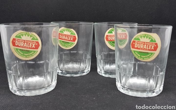 Coleccionismo Otros Botellas y Bebidas: lote 4 vasos chiquiteo de duralex - con su etiqueta - car111 - Foto 2 - 136088530