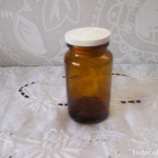 Coleccionismo Otros Botellas y Bebidas: TARRO DE CRISTAL MEDICAMENTOS BAYER. Lote 137258438