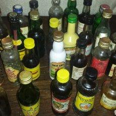 Coleccionismo Otros Botellas y Bebidas: BOTELLAS 29 LICORES. Lote 137667106