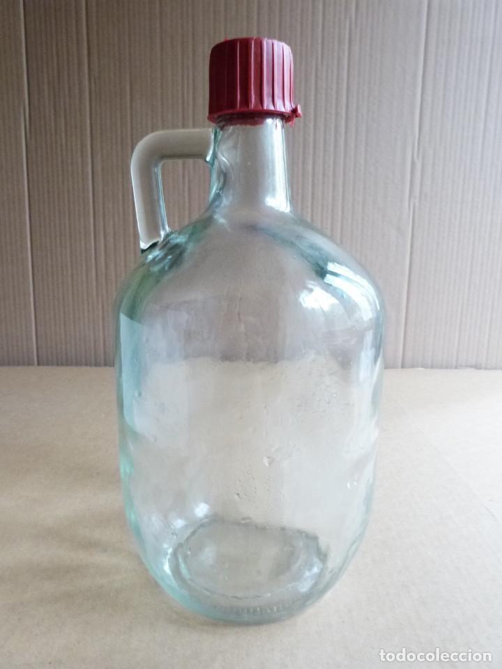 GARRAFA BOTELLA DE CRISTAL HIERBAS TUNEL CON TAPON - 3 LITROS (Coleccionismo - Otras Botellas y Bebidas )