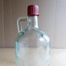 Coleccionismo Otros Botellas y Bebidas: GARRAFA BOTELLA DE CRISTAL HIERBAS TUNEL CON TAPON - 3 LITROS. Lote 137950326