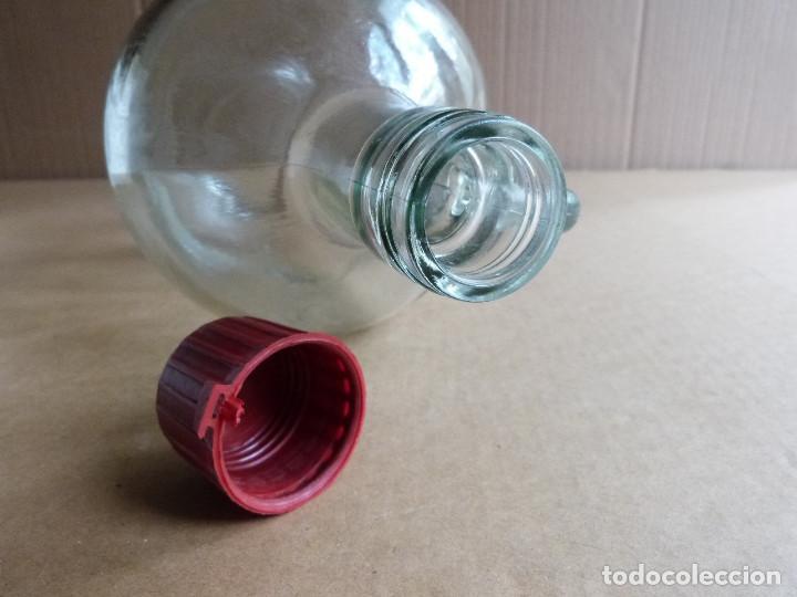 Coleccionismo Otros Botellas y Bebidas: Garrafa botella de cristal Hierbas Tunel con tapon - 3 Litros - Foto 3 - 137950326