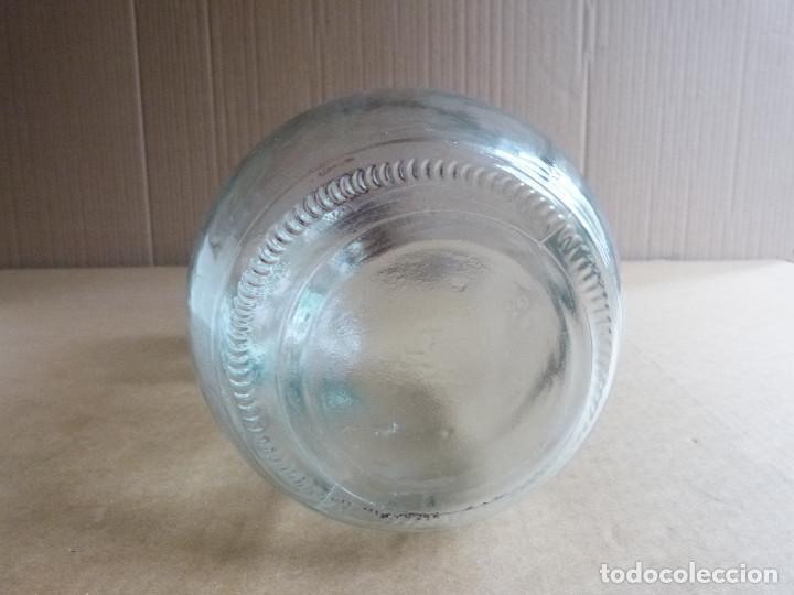 Coleccionismo Otros Botellas y Bebidas: Garrafa botella de cristal Hierbas Tunel con tapon - 3 Litros - Foto 4 - 137950326