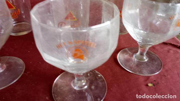 Coleccionismo Otros Botellas y Bebidas: 7 ANTIGUAS COPAS Y VASOS CON PUBLICIDAD DE BEBIDAS - Foto 4 - 137963270