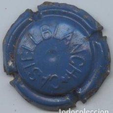 Coleccionismo Otros Botellas y Bebidas: PLACA DE CAVA ESTAMPADA CASTELLBLANCH - (ESTRELLA INVERTIDA). Lote 138698902