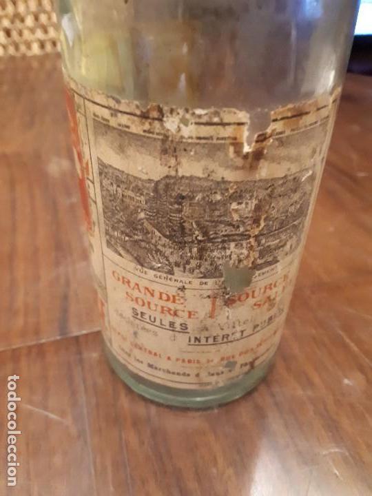 Coleccionismo Otros Botellas y Bebidas: Botella Aguna Mineral Vitel. Grande Source. Francia. Digestion Nutrition. Antigua. 29 cms - Foto 4 - 138883466