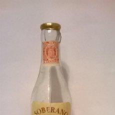 Coleccionismo Otros Botellas y Bebidas: BOTELLIN SOBERANO GONZALEZ BYASS. Lote 138900982