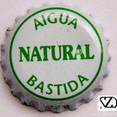 Coleccionismo Otros Botellas y Bebidas: TAPÓN CORONA - CHAPA - ESPAÑA (BALEARES) - AGUA NATURAL - BASTIDA. Lote 140623394