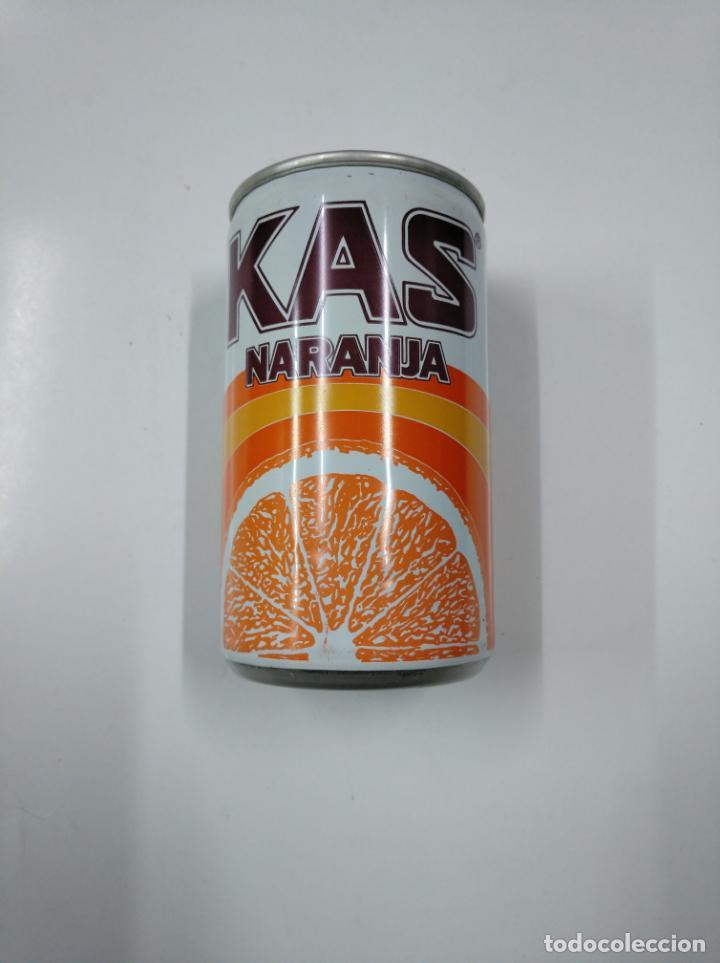 Coleccionismo Otros Botellas y Bebidas: LATA DE REFRESCO KAS NARANJA. SIN CONTENIDO. CAR130 - Foto 2 - 179549505