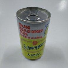 Coleccionismo Otros Botellas y Bebidas: LATA DE REFRESCO SCHWEPPES LIMON. SIN CONTENIDO. CAR130. Lote 141346294