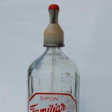 Coleccionismo Otros Botellas y Bebidas: SIFÓN ANTIGUO FAMILIAR. Lote 141516062