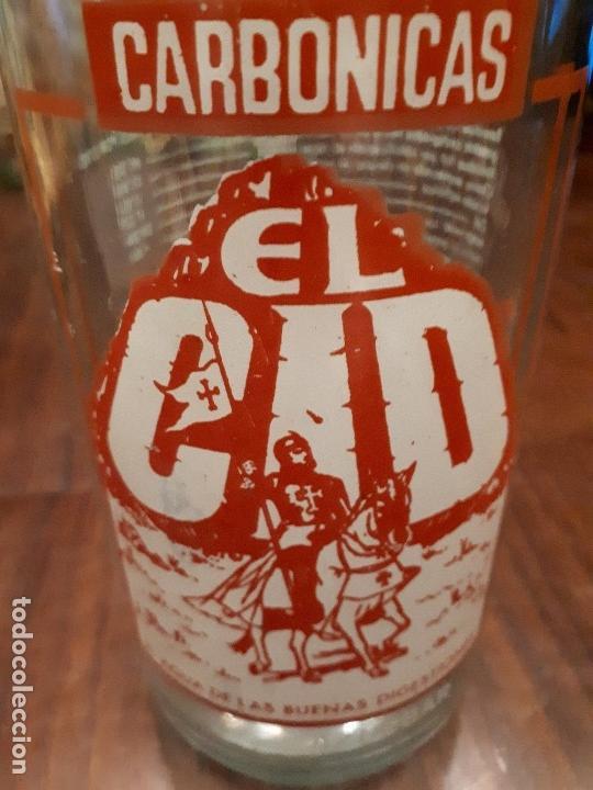 Coleccionismo Otros Botellas y Bebidas: Colección 11 Botellas Gaseosa y 1 Sifón. Revoltosa, El Cid, Escutia, Montesol. Monteagudo. - Foto 24 - 141561338