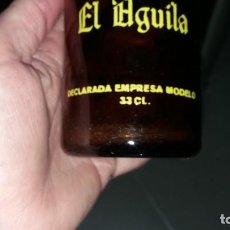 Coleccionismo Otros Botellas y Bebidas: ANTIGUA BOTELLA DE CERVEZA EL AGUILA ESPECIAL 33 CL DECLARADA EMPRESA MODELO BEER BIERE BIRRA. Lote 141829218