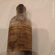 Coleccionismo Otros Botellas y Bebidas: TINTURA DE QUINA LOJA. Lote 142272250