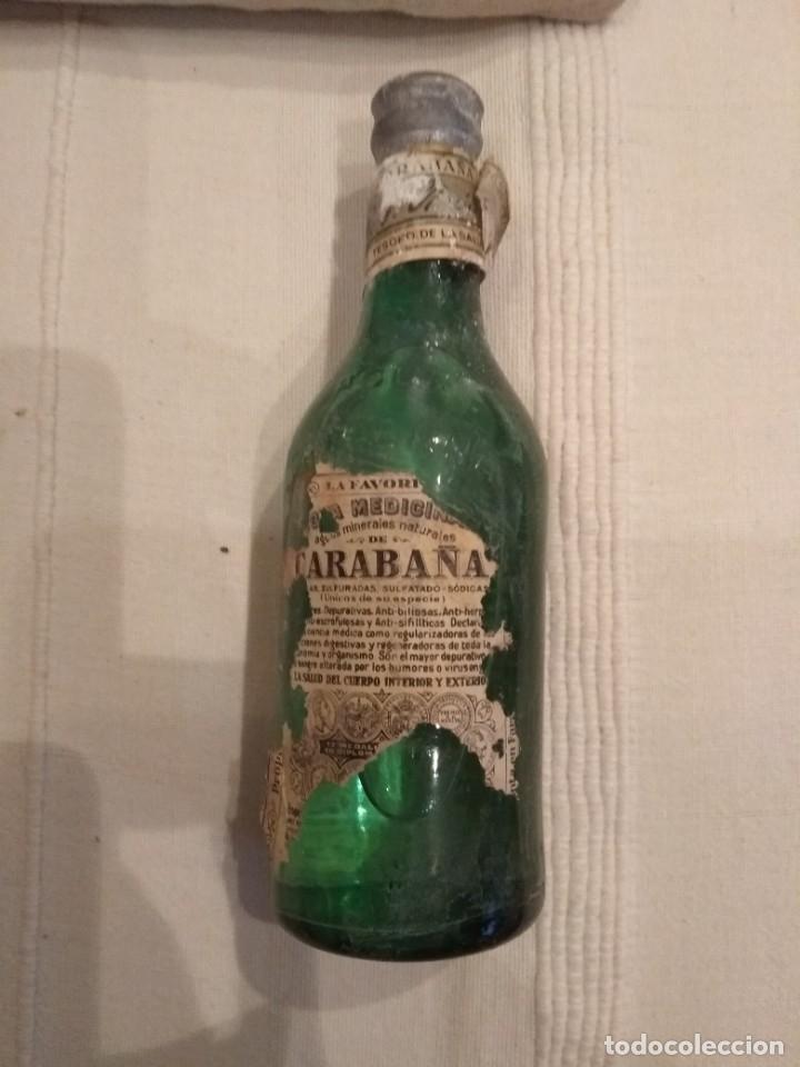 BOTELLA DE AGUA DE CARABAÑA (Coleccionismo - Otras Botellas y Bebidas )