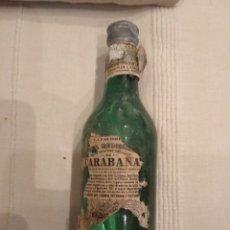 Coleccionismo Otros Botellas y Bebidas: BOTELLA DE AGUA DE CARABAÑA. Lote 213138870