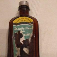 Coleccionismo Otros Botellas y Bebidas: JARABE MERCK DE EFETONINA. Lote 142274110