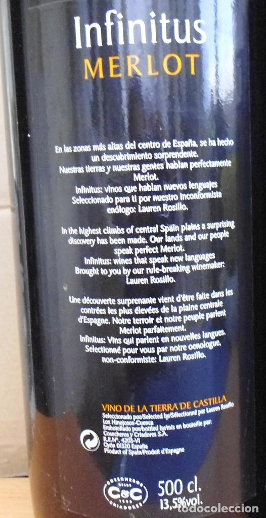 Coleccionismo Otros Botellas y Bebidas: 3 BOTELLAS DE VINO DE CRISTAL 5 LITROS VACÍAS DE PROMOCIÓN SIN ABRIR MIRA LAS FOTOS - Foto 5 - 142305434