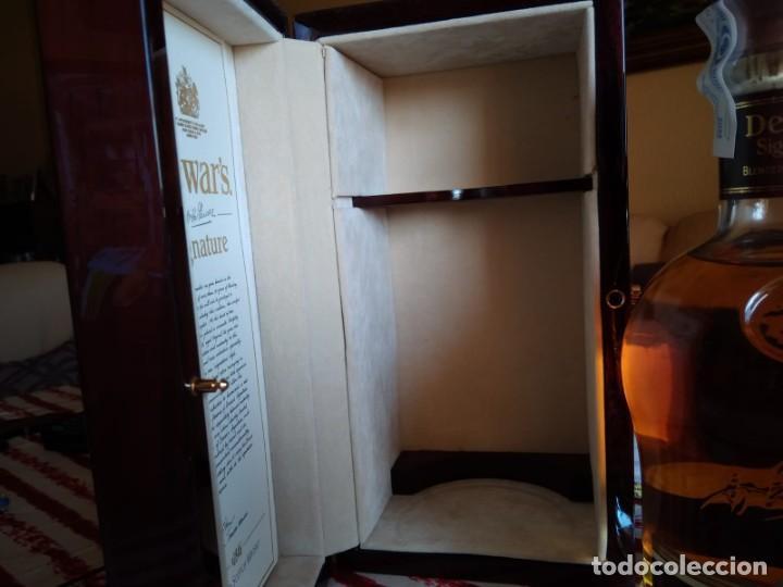 Coleccionismo Otros Botellas y Bebidas: Whisky Dewars signature edición limitada - Foto 3 - 142760922